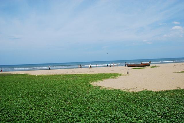 breezy beach chennai, india