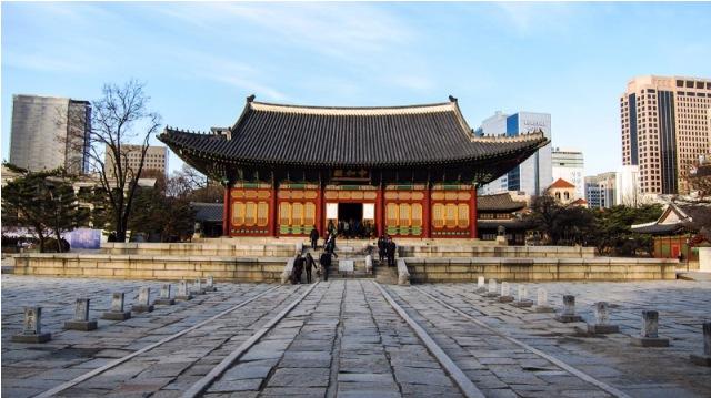 deoksu gung place, korea, seoul