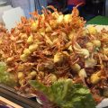 local food, taichung, taiwan, mini-crabs fried