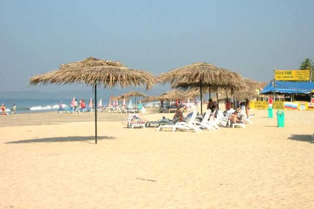majorda beach, goa beach, india