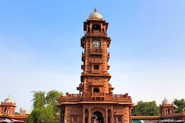 clock house, clock tower, jodhpur, india