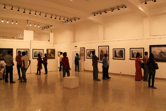 jehangir art gallery, mumbai, india