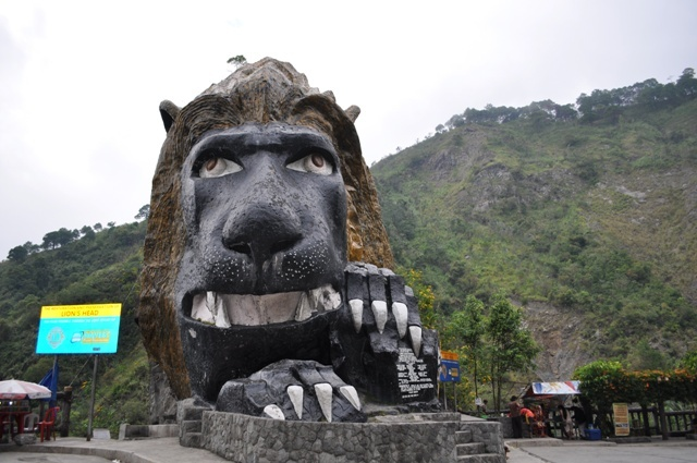 baguio, lions head, philippines, kennon road