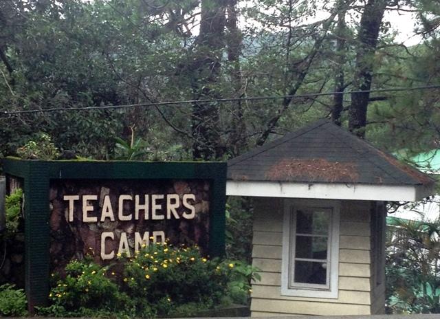 teachers camp, baguio, philippines