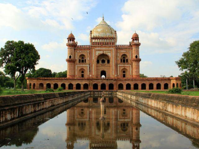 safdarjung tomb, india, new delhi