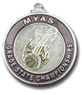 Custom Basketball Medal