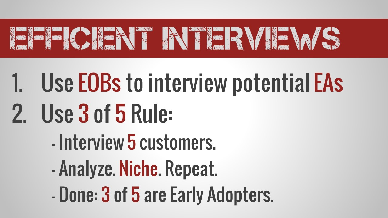 customer development labs how to do lean startup keys to efficient effective interviews