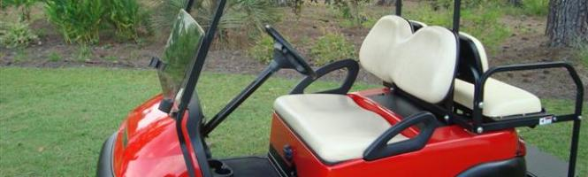 Torch Red Club Car