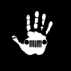 jeep wave hand vinyl decal stickers – custom sticker shop