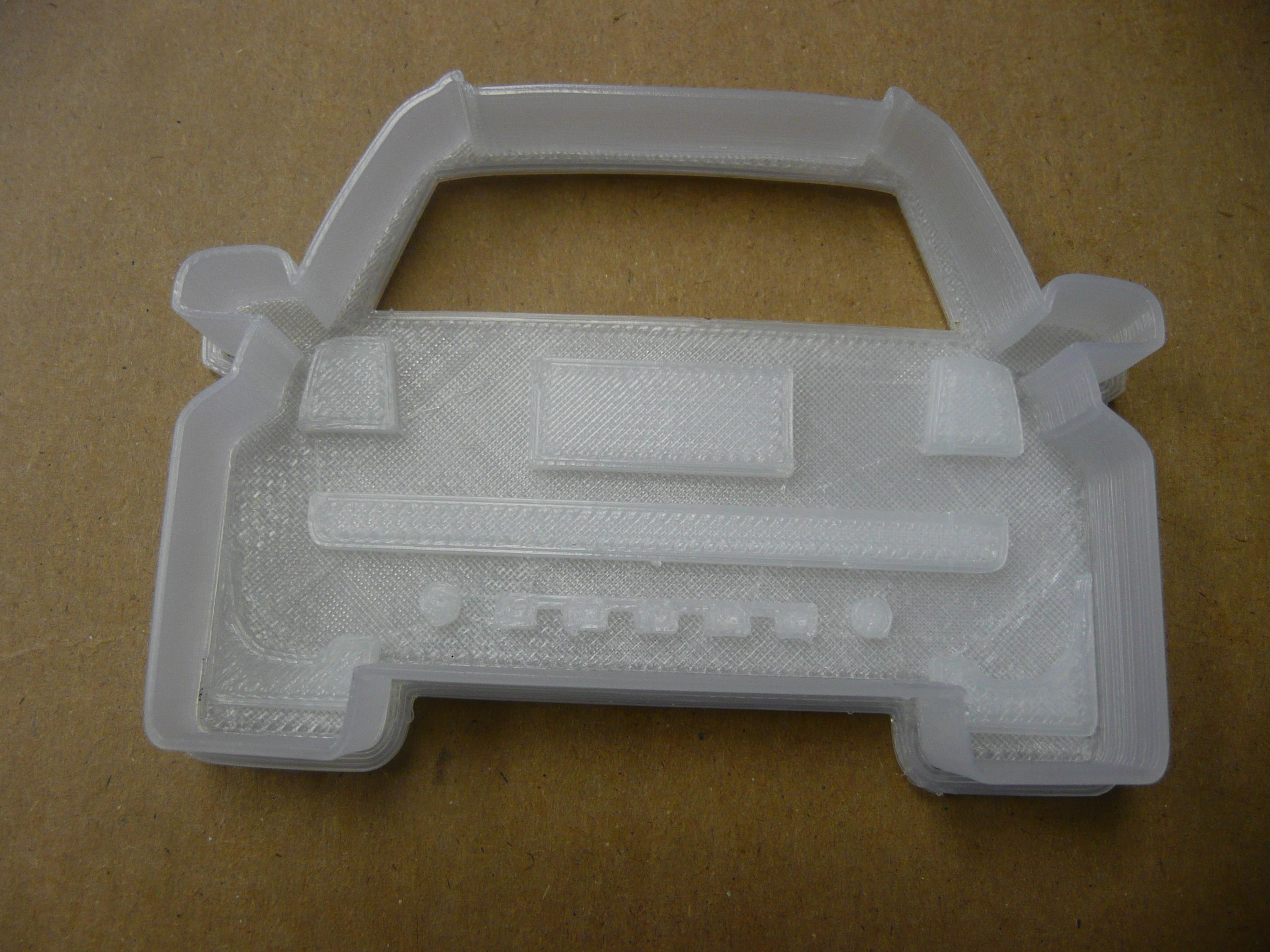 Audi Allroad (C5) Cookie/Sandwich Cutter