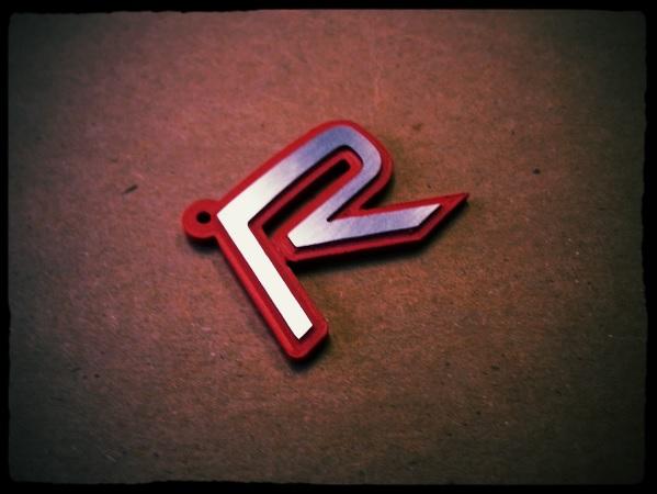 Random CNCing – R key chain