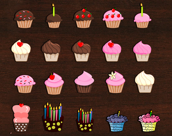 20 Free Printable Cupcake Planner Stickers