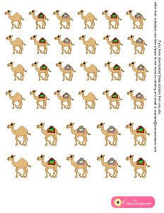Free Printable Hump Day Planner Stickers