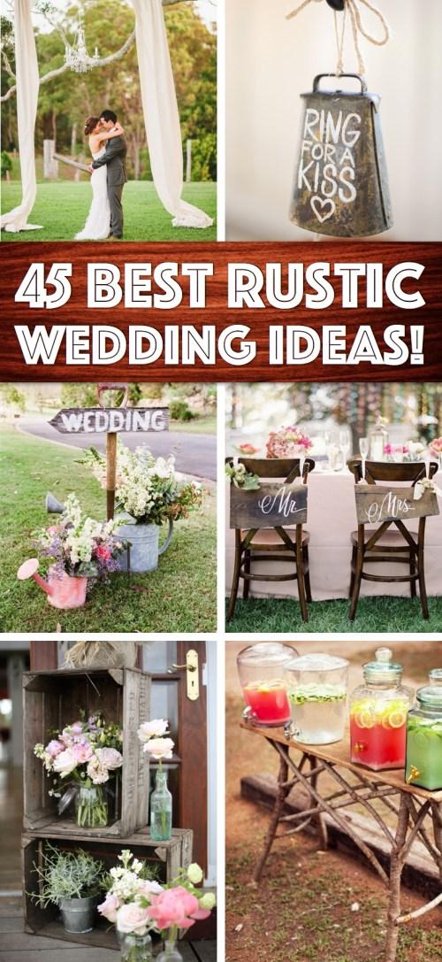 Medium Of Rustic Wedding Decor