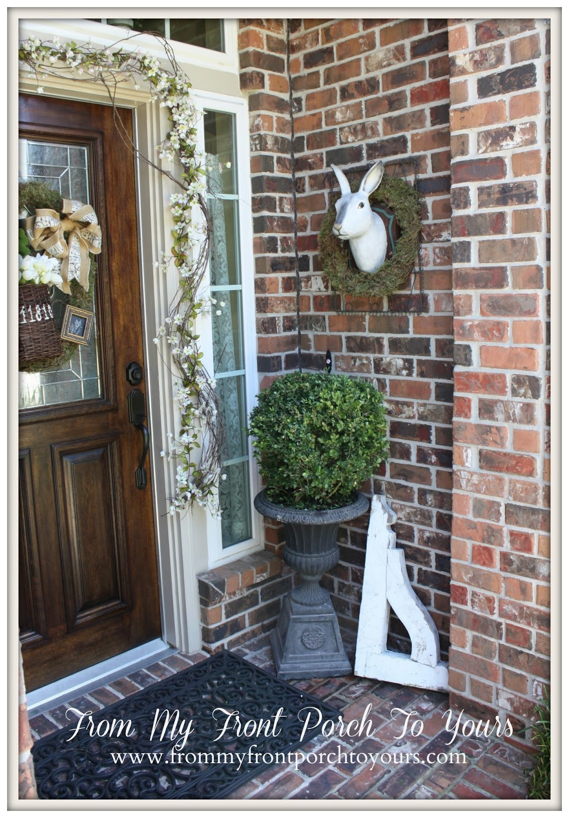 25 Spring Porch Decoration Ideas That are Much More Than Just     Spring Front Porch