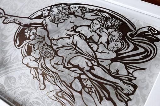 Cutteristic - Michelangelo Creation of Adam 8