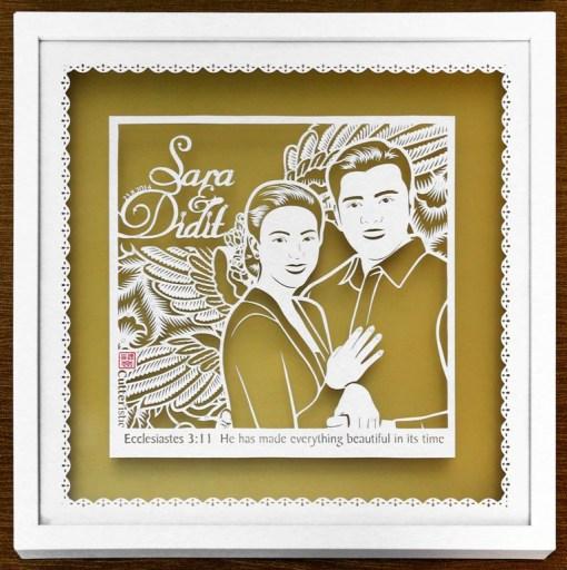 Cutteristic - Wedding Gift Sara Djojohadikusumo Didit Harwendro 1