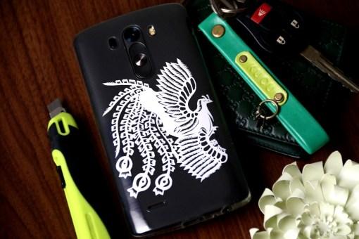 Cutteristic - Handphone Casing LG  G3 Phoenix Batik Burung Api 1