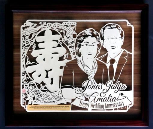 Cutteristic - Wedding Anniversary Gift Jonas Jahja Amalia Medion 3