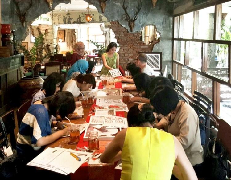 Cutteristic Workshop - Arjuna Cafe 04