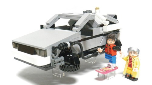 LEGO CUUSOO Back to the Future DeLorean