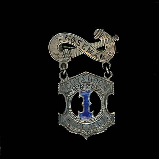 1870s Hook & Ladder Medal