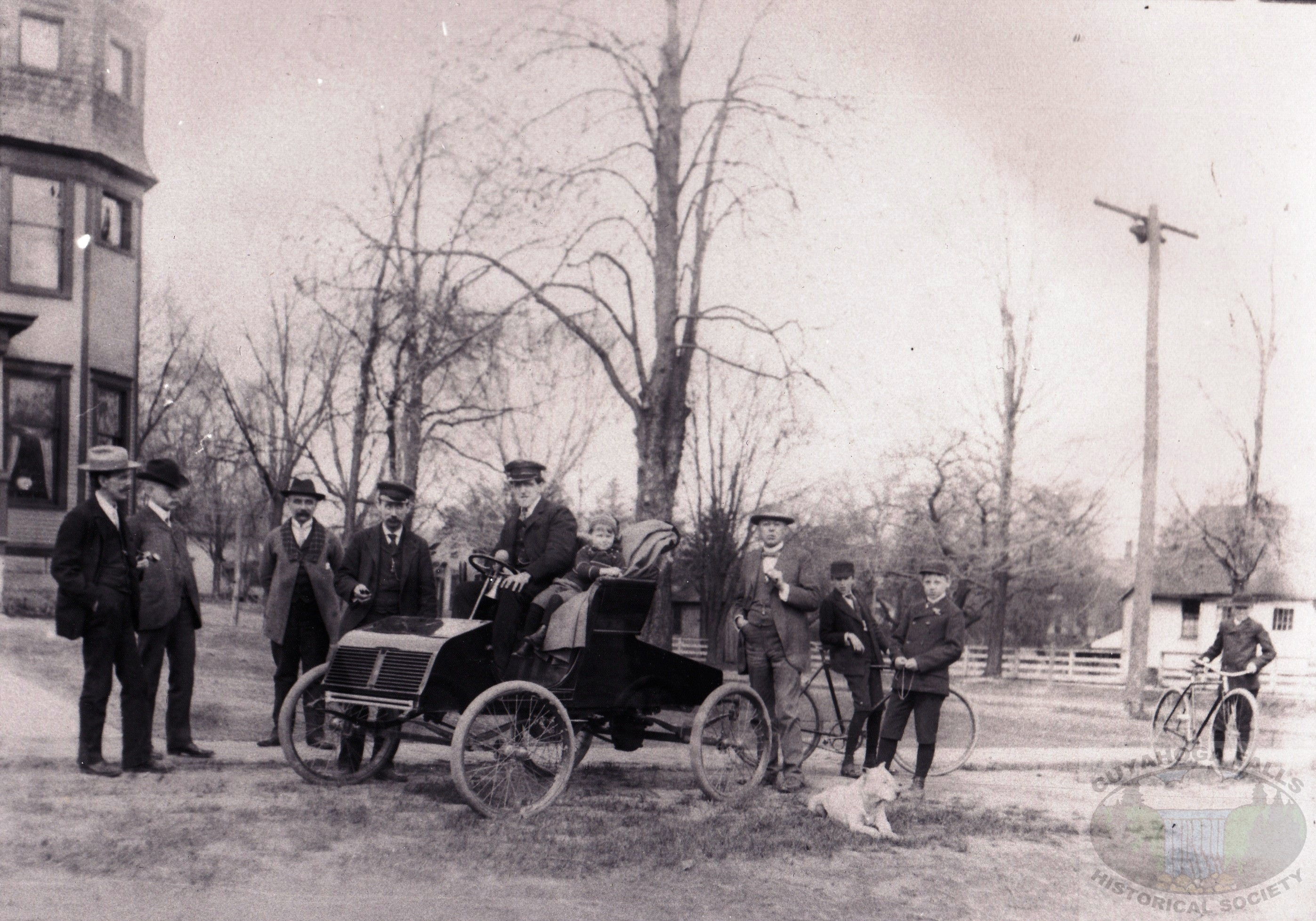 The First Automobiles in Cuyahoga Falls