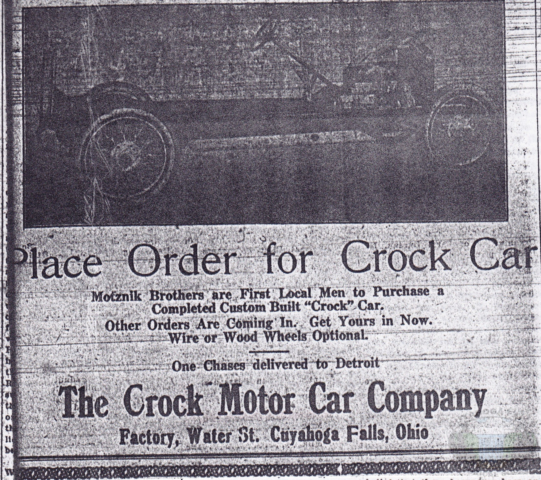 Crock Car Manufacturers in Cuyahoga Falls
