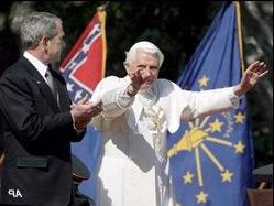 Pope Benedict and the Confederate Flag