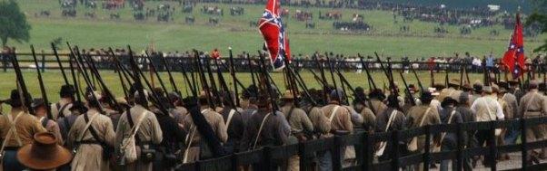 reenactment Gettysburg