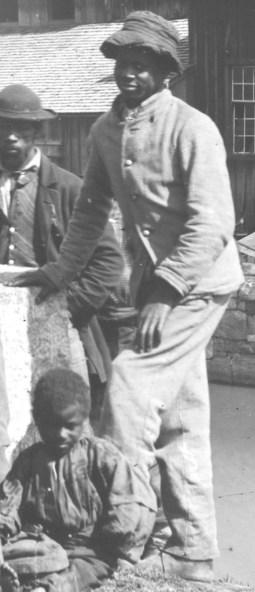 Black Man in sack coat