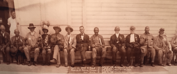 Former Camp Slaves Attend Confederate Veterans Reunion in Tampa