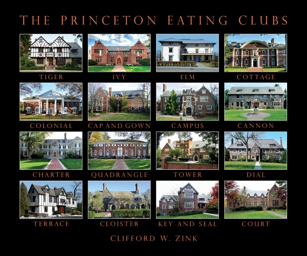 Princeton Eating Clubs front cover CW Zink 10.7.17