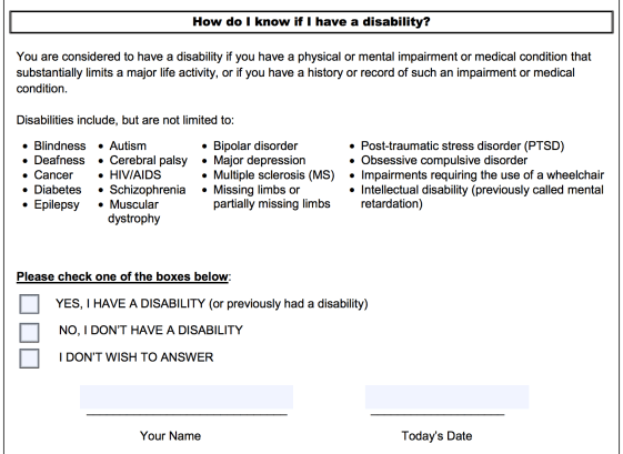 How Do I Know if I have a disability? Form CC-305