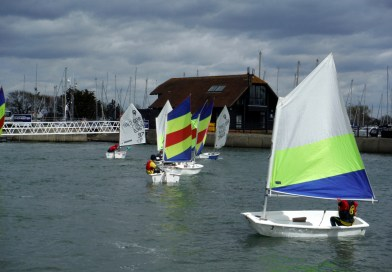 CYC Oppie Fleet back on the water