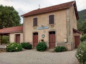 L'ancienne gare de Chalençon