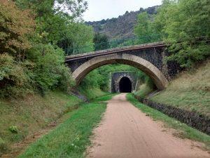 Ouvrages de la voie verte au Sud du Puy.
