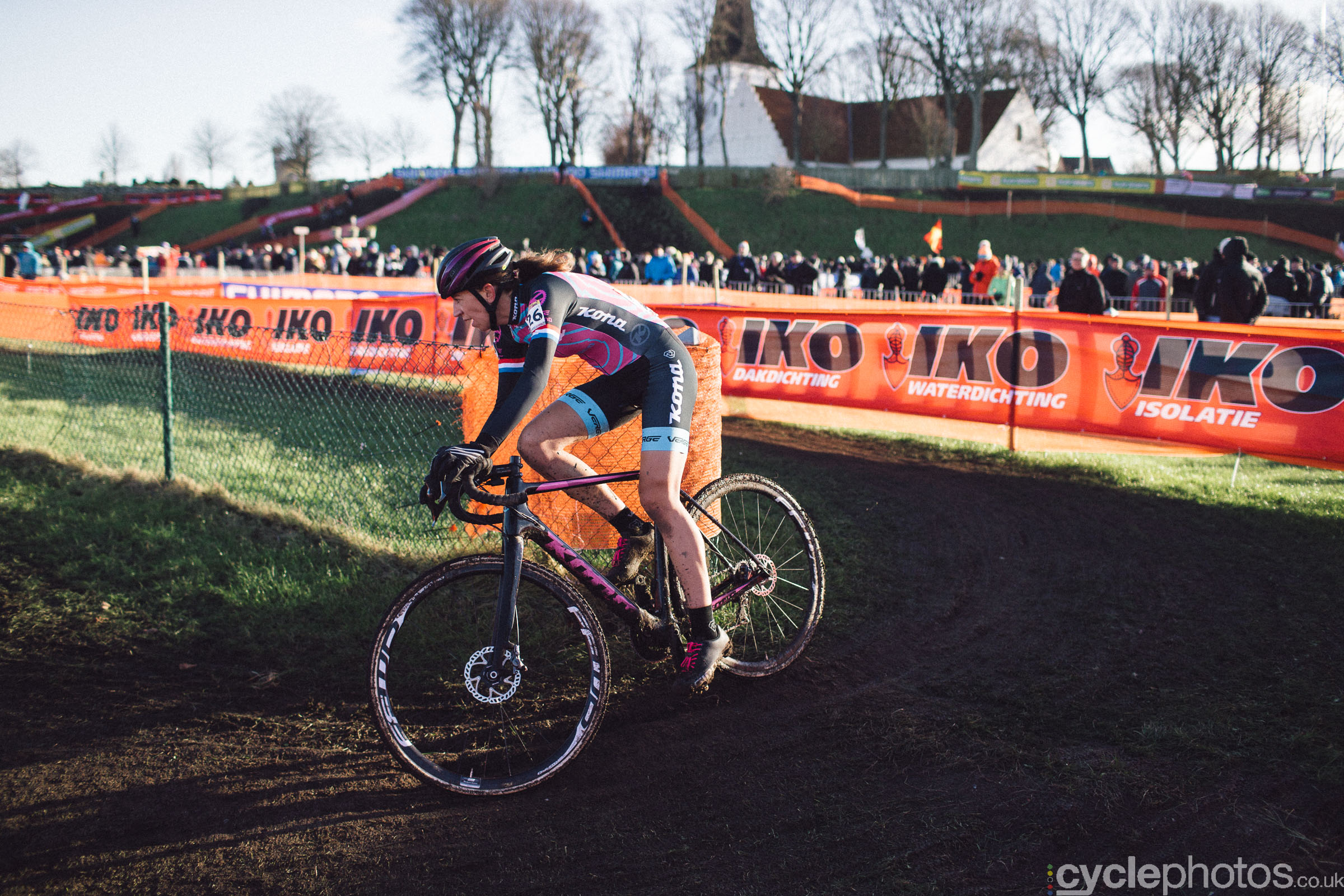 Helen Wyman at UCI Cyclocross World Cup #4 - Bogense, DEN