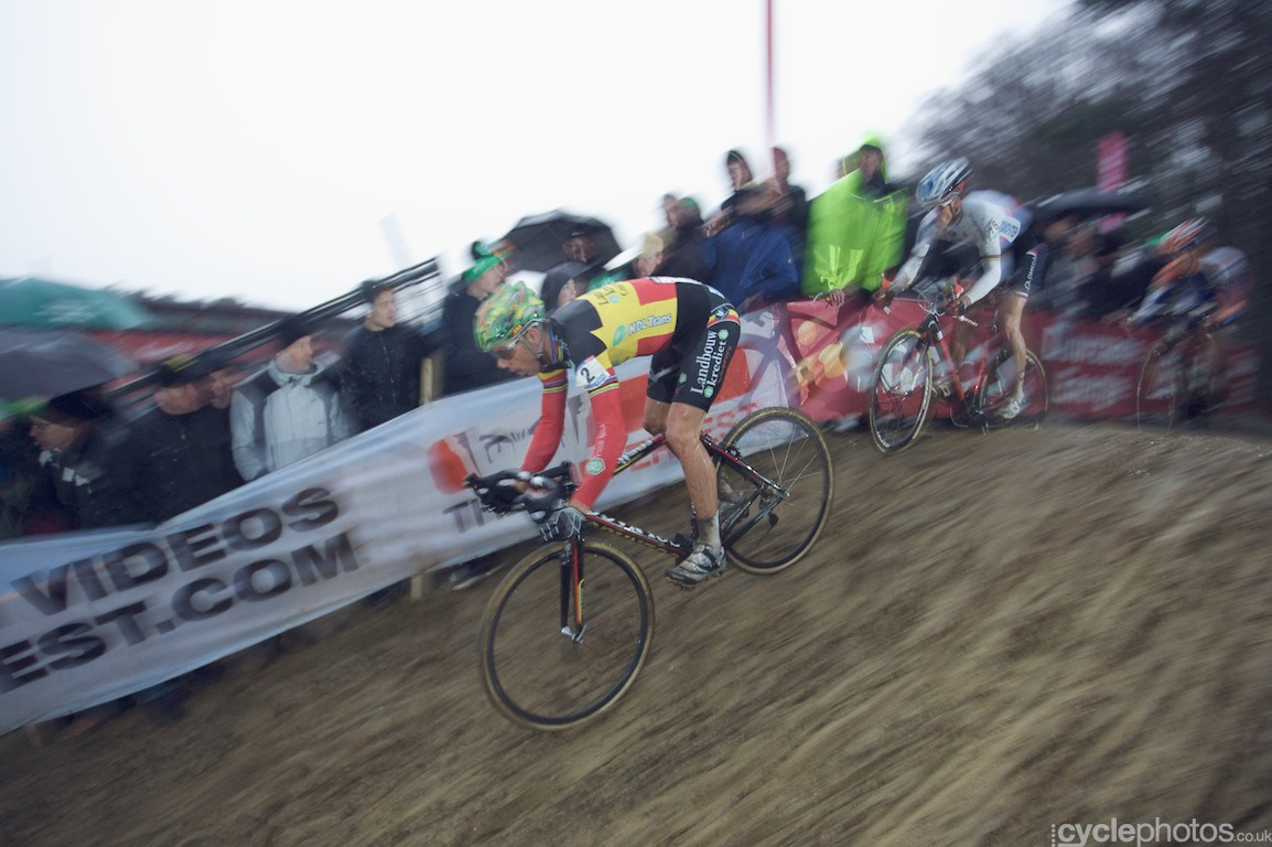 Sven Nys descends