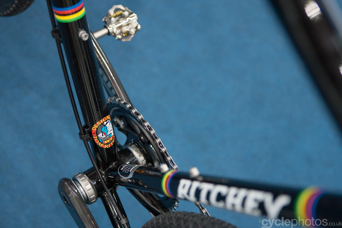 New Ritchey Swiss Cross cyclocross bike at the 2014 Eurobike Bike show in Friedrichshafen, Germany.
