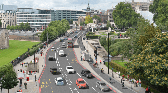 Extraordinary coalition of businesses support bold Cycle Superhighway plans
