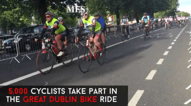 5,000 cyclists take to the streets for The Great Dublin Bike Ride