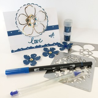 Tombow USA and Stampendous Blog Hop