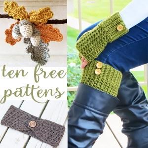 Ten Beautiful Free Autumn Crochet Patterns