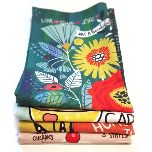 A coupla tea towels or three