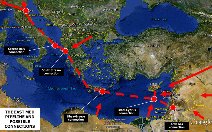 Greece to commission feasibility study for Mediterranean gas pipeline
