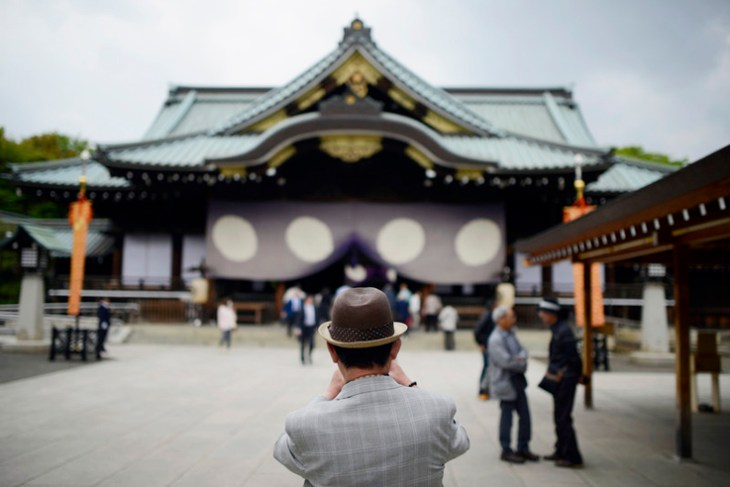 Japan lawmakers in shrine visit