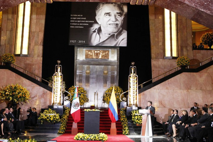 Fans pay tribute to Nobel Laureate Garcia Marquez