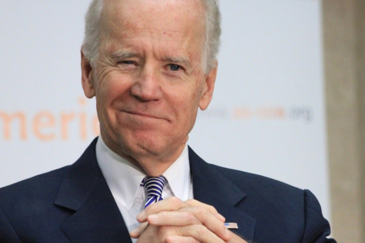 Full speed ahead for Biden visit