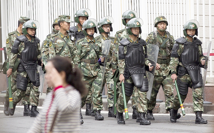 More violence in China's Xinjiang after deadly attack